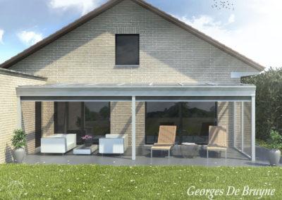 056 Georges De Bruyne Pergola Ref. Scheppens Wetteren 3D