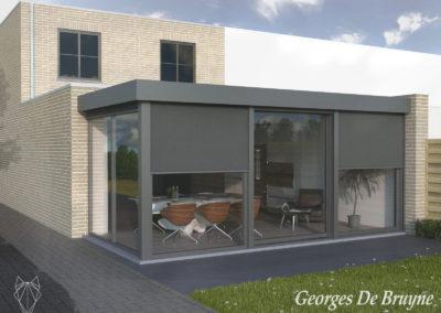 057 Georges De Bruyne veranda Ref. D'Hondt Mariakerke 3D Aangepast